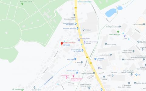 Coworking-Graefrath angezeigt auf Google Maps