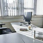 Arbeitstisch in einem Coworking Space