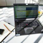 Arbeitstisch als Flex Desk bei Coworking-Gräfrath zur Miete.