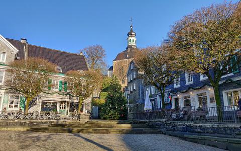 Marktplatz in Solingen Gräfrath